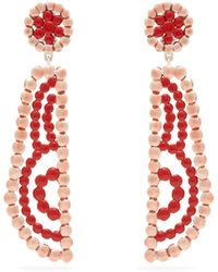Chloé - Valeria Lacquered Clip Earrings - Lyst