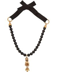 Valentino - Rockstud Heart Necklace - Lyst