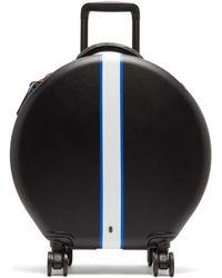 OOKONN - Front Stripe Circular Cabin Suitcase - Lyst