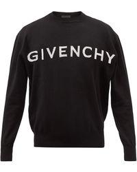Givenchy 4g カシミアセーター - ブラック