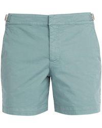 Orlebar Brown - Bulldog Cotton Blend Shorts - Lyst