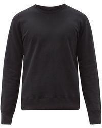 Reigning Champ Sweat-shirt en coton éponge - Noir