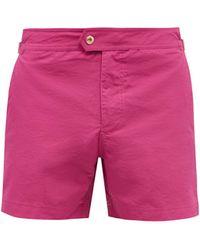 Tom Ford サイドバックル スイムショーツ - ピンク