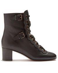 Chloé - Orson Lace-up Ankle Boots - Lyst