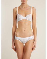 Negative Underwear Essaouira Mesh Briefs - White