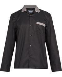 Cobra S.C. Cabriolet Cotton-blend Shirt - Black