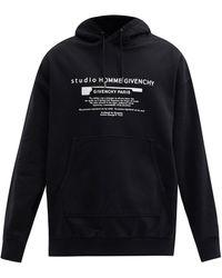 Givenchy - コットンスウェットパーカー - Lyst