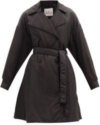 Moncler Trench-coat matelassé à double boutonnage Meboula - Noir