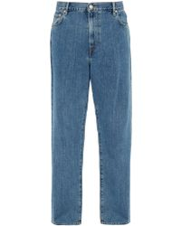 Burberry - Stonewashed Relaxed Leg Jeans - Lyst