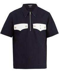 CALVIN KLEIN 205W39NYC - Western-pocket Polo Shirt - Lyst