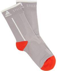 adidas By Stella McCartney - Logo Jacquard Ankle Socks - Lyst