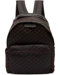 Stella McCartney - Falabella Rainbow Logo Print Nylon Backpack - Lyst