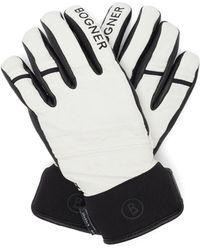 Bogner Thor Leather Ski Gloves - Black
