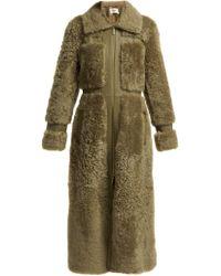 Zimmermann - Long manteau en shearling Tempest - Lyst