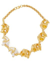 Marni - Crinkle Pendant Necklace - Lyst