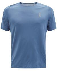 On パフォーマンス Tシャツ - ブルー
