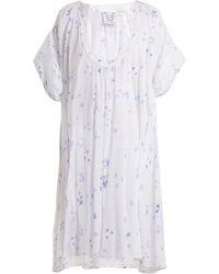 Thierry Colson - Shanta Floral Print Cotton Dress - Lyst