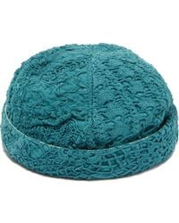By Walid - Emperor French Crochet Cotton Hat - Lyst