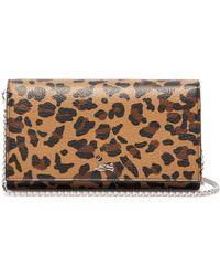 Christian Louboutin Boudoir Leopard-print Leather Belt Bag - Multicolour