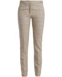 Gabriela Hearst - Lisa Plaid Wool-blend Trousers - Lyst