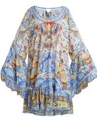 Camilla - Geisha Gateways Silk Dress - Lyst