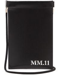 Maison Margiela - Mm.11 レザーフォンポーチ - Lyst