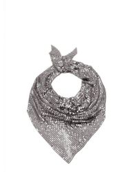 Paco Rabanne - Chainmail Mesh Scarf - Lyst