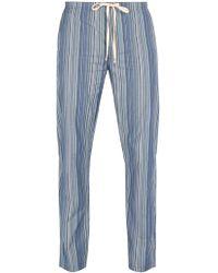 Paul Smith - Striped Cotton Pyjama Trousers - Lyst