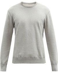 Reigning Champ Sweat-shirt en coton éponge - Gris
