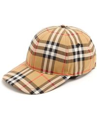 Burberry - House-checked Cotton Cap - Lyst 552b9dcab0e