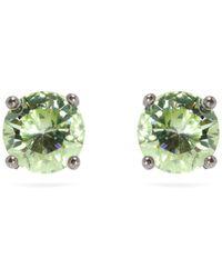 Bottega Veneta - Cubic-zirconia And Sterling-silver Stud Earrings - Lyst