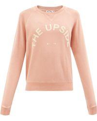 The Upside Sweat-shirt en jersey de coton à logo Bondi - Multicolore