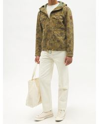Polo Ralph Lauren カモフラージュ コットンヘリンボーンジャケット - グリーン