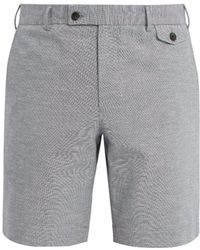 Boglioli - Straight-leg Cotton-blend Shorts - Lyst