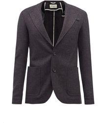 Oliver Spencer ケンドリック チェック ウールスーツジャケット - マルチカラー