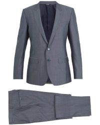Dolce & Gabbana - Martini Silk And Wool Blend Suit - Lyst