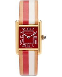 La Californienne Vintage 18kt Gold-vermeil Watch - Multicolour