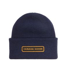 Canada Goose メリノウールビーニー - ブルー