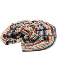 Missoni Striped Crochet-knit Turban Hat - Multicolour