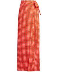 Preen By Thornton Bregazzi - Agnel Wrap Maxi Skirt - Lyst