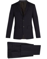 Givenchy - Single-breasted Wool Suit - Lyst