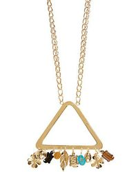 Aurelie Bidermann - Aurélie Gold-plated Necklace - Lyst
