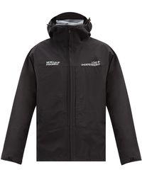 7 MONCLER FRAGMENT レオン サンライズプリント フーデッドジャケット - ブラック