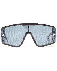 Dior Lunettes de soleil masque en acétate Xtrem - Noir