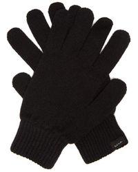 Paul Smith Cashmere-blend Gloves - Black