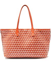 Anya Hindmarch I Am A Plastic Bag Recycled-canvas Tote Bag - Multicolor