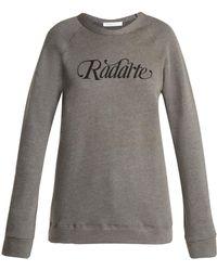 Rodarte - Radarte Cotton Sweatshirt - Lyst