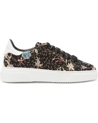 By Walid 19th-century Tapestry Sneakers - Black