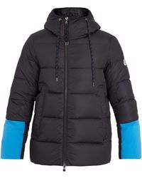 Moncler | Drake Contrast-panel Quilted-down Jacket | Lyst