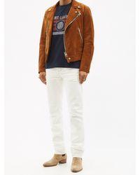 Saint Laurent コットンtシャツ - ブルー